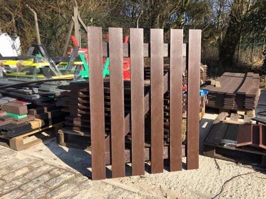 Recycled Mixed Plastic Picket Gates | Various Sizes